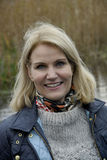 MS.HELLE THORNING-SCMHIDT_danish prime ministers Stock Photo