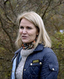 MS.HELLE THORNING-SCMHIDT_danish prime ministers Royalty Free Stock Photo