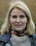 MS.HELLE THORNING-SCMHIDT_danish prime ministers Royalty Free Stock Images