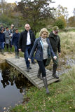 MS.HELLE THORNING-SCMHIDT_danish prime ministers Stock Photos