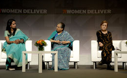 MS.HINA JILANI_ADVOCATE_WOMEN DELIVER CONFERNECE Stock Photography