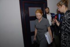Ms INGER STOJBERG_DANISH minister Fotografia Royalty Free