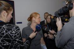Ms INGER STOJBERG_DANISH minister Obrazy Stock