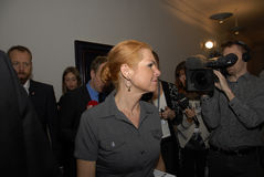 Ms INGER STOJBERG_DANISH minister Zdjęcie Royalty Free