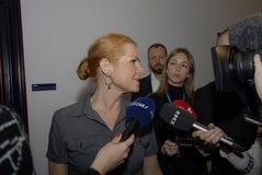Ms INGER STOJBERG_DANISH minister Fotografia Stock