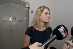 Ms JOHANNE SCHIMDT NIELSEN_ENHEDSLISTEN Fotografia Stock