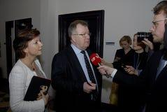 MS.KAREN ELLEMANN_JENSEN & CLAUS HJORT FREDERIKSEN Royalty Free Stock Image