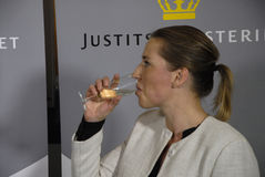 MS.KAREN HAEKKERUP &MS. METTE FREDERIKSEN Royalty Free Stock Photo