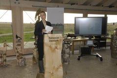 MS.KIRSTEN BROSBOL_MINISTER FOR ENVIORNMENT. COPENHAGEN/DENMARK_Ms.Helle Thorning-Schmidt danish prime minister and Ms.kirtsen Brosbol(Brosb�l) danish stock images