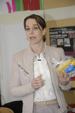 Ms KIRSTEN BROSBOL_MINISTER FÖR MILJÖ arkivbilder