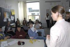 Ms KIRSTEN BROSBOL_MINISTER FÖR MILJÖ royaltyfria bilder