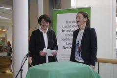 Ms.Kirsten Broshbol danish minister for Envornment Royalty Free Stock Photos
