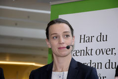 Ms.Kirsten Broshbol danish minister for Envornment Royalty Free Stock Image