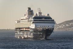 MS Mein Schiff off Mykonos.  Stock Photography