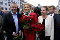 MS.METTE FEDERIKSEN_NEW PARTY LEADER Royalty Free Stock Photos