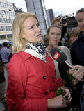 MS.METTE FEDERIKSEN_NEW PARTY LEADER Stock Images