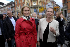 MS.METTE FEDERIKSEN_NEW PARTY LEADER Royalty Free Stock Image