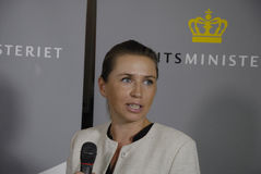 MS.METTE FREDERIKSEN_DANISH NEW MINISTER FIR JUSTICE Royalty Free Stock Photo