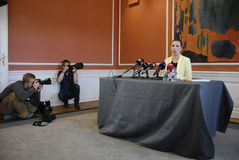 MS.METTE FREDERIKSEN_MINISTER FOR JUSTICE Stock Photo