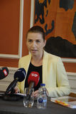 MS.METTE FREDERIKSEN_MINISTER FOR JUSTICE Stock Photos