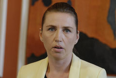 MS.METTE FREDERIKSEN_MINISTER FOR JUSTICE Stock Image
