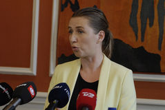 MS.METTE FREDERIKSEN_MINISTER FOR JUSTICE Royalty Free Stock Photography