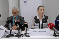 Ms.Mette Frederiksen minister for labour Royalty Free Stock Photography