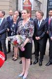 Ms METTE FREDERIKSEN NOWY premier Z rzędem I zdjęcie royalty free