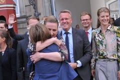 Ms METTE FREDERIKSEN NOWY premier Z rzędem I obrazy royalty free