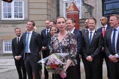 Ms METTE FREDERIKSEN NOWY premier Z rzędem I fotografia stock