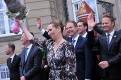 Ms METTE FREDERIKSEN NOWY premier Z rzędem I obraz royalty free