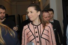 MS.METTE FREDERIKSEN_SOCIAL DEMOCRAT LEADER Royalty Free Stock Photography
