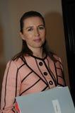 MS.METTE FREDERIKSEN_SOCIAL DEMOCRAT LEADER Stock Photo