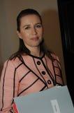 MS.METTE FREDERIKSEN_SOCIAL DEMOCRAT LEADER Stock Image