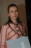 MS.METTE FREDERIKSEN_SOCIAL DEMOCRAT LEADER Royalty Free Stock Images