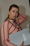 MS.METTE FREDERIKSEN_SOCIAL DEMOCRAT LEADER Royalty Free Stock Photo
