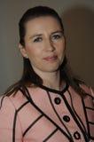 MS.METTE FREDERIKSEN_SOCIAL DEMOCRAT LEADER Stock Photography