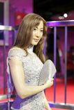 Ms michelle yeoh wax figure Royalty Free Stock Photography