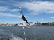 MS Nautica cruiseferry w Helsinki fotografia royalty free