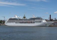 MS Nautica cruiseferry w Helsinki obraz royalty free