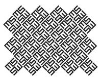 Ms Pattern Design Fotografia Stock Libera da Diritti