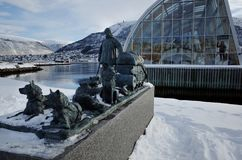 MS Polstjerna, Tromso, Norway. Museum of MS Polstjerna. The best preserved sealing vessel in Norway. Brought home nearly 100,000 seals. Used for Arctic Stock Image