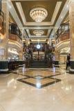 MS Queen Elizabeth Casino Staircase fotos de stock