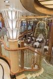 MS Queen Elizabeth do restaurante de Britannia Fotografia de Stock