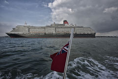 Ms Queen Victoria Royaltyfria Bilder