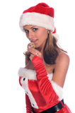 MS. Santa Royalty Free Stock Images