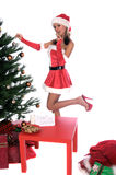 MS. Santa Royalty Free Stock Photo