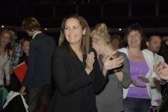 MS SF党的插入式放大器奥利森DYHR女主席 免版税库存照片