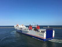 MS Stena Gothica in Frederikshavn, Denmark. Royalty Free Stock Photos
