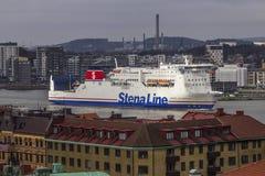 MS Stena Jutlandica in Gothenburg Stock Photo